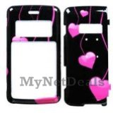 Love Drops Snap-On Cover Case Protector Faceplate for LG enV2 (VX9100)