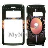 Phoenix Skull Snap-On Cover Case Protector Faceplate for LG enV2 (VX9100)