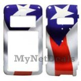 Puerto Rican Snap-On Cover Case Protector Faceplate for LG enV2 (VX9100)
