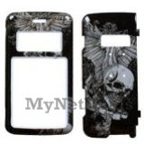Skull Wing Snap-On Cover Case Protector Faceplate for LG enV2 (VX9100)