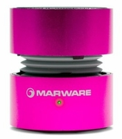 Marware UpSurge Rechargable Mini Speaker - Pink