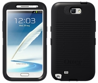 Otterbox Defender Case for Samsung Galaxy Note II 2 - Black