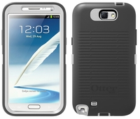 Otterbox Defender Case for Samsung Galaxy Note II 2 - Glacier (Grey / White)
