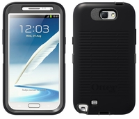 Otterbox Defender Case for Samsung Galaxy Note II 2 - Knight (Black / Grey)