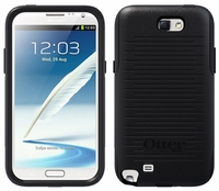 Otterbox Commuter Case for Samsung Galaxy Note II 2 - Black