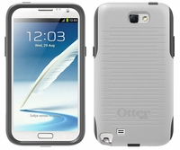 Otterbox Commuter Case for Samsung Galaxy Note II 2 - Glacier (Grey / White)