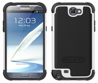 Ballistic SG Series Case for Samsung Galaxy Note II 2 - Black / White