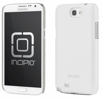 Incipio Feather Shine Case for Samsung Galaxy Note II 2 - White