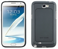 Body Glove Dimensions Case for Samsung Galaxy Note II 2 - Gray