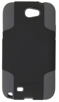 Fusion Case for Samsung Galaxy Note II 2 - Black and Gray