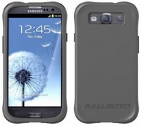 Ballistic Smooth Series Case for Samsung Galaxy S III 3 - Charcoal Gray