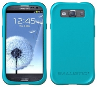 Ballistic Smooth Series Case for Samsung Galaxy S III 3 - Teal