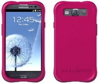 Ballistic Smooth Series Case for Samsung Galaxy S III 3 - Hot Pink