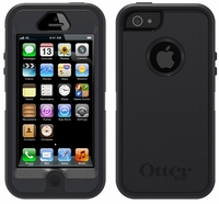 OtterBox Defender Case for Apple iPhone 5 - Black