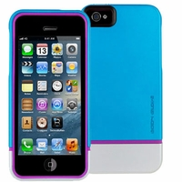 Body Glove Icon Hybrid Case for iPhone 5 - Teal and Silver