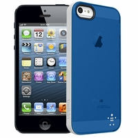 Belkin Grip Candy Case for Apple iPhone 5 - Gray / Blue