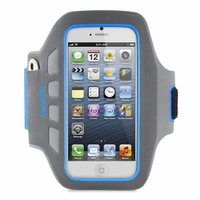 Belkin EaseFit Plus Armband for iPhone 5 - Blue and Gray