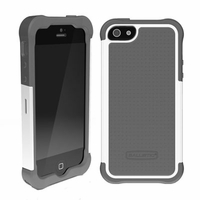 Ballistic SG Shell Gel Case for Apple iPhone 5 - Charcoal and White