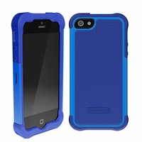 Ballistic SG Shell Gel Case for Apple iPhone 5 - Navy Blue Cobalt