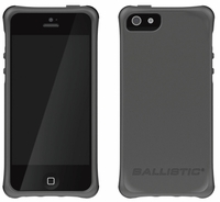 Ballistic Smooth Series Case for Apple iPhone 5 - Charcoal Gray