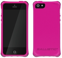 Ballistic Smooth Series Case for Apple iPhone 5 - Hot Pink