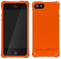 Ballistic Smooth Series Case for Apple iPhone 5 - Orange