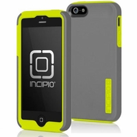 Apple iPhone 5 Incipio Silicrylic DualPRO - Gray and Yellow