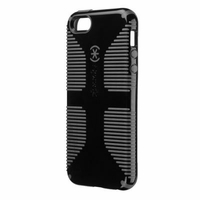 Speck - CandyShell Grip Case Apple iPhone 5 in Black/Slate