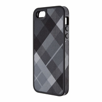 Speck - FabShell Case Apple iPhone 5 in MegaPlaid Black
