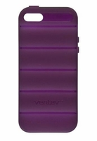 SlipGrip Case for the Apple iPhone 5 - Plum Purple