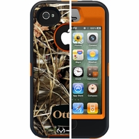 Otterbox Apple iPhone 4/4S Orange/Black Camo Max 4 HD Defender Case