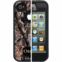Otterbox Apple iPhone 4/4S Black Camo All Purpose Defender Case