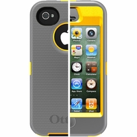 Otterbox Apple iPhone 4/4S Grey/Yellow Defender Case