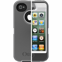 Otterbox Apple iPhone 4/4S Grey/White Defender Case