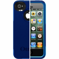 Otterbox Apple iPhone 4/4S Blue Commuter Case