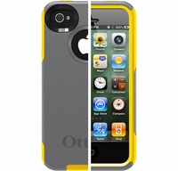 Otterbox Apple iPhone 4/4S Yellow/Grey Commuter Case