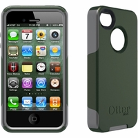 Otterbox Apple iPhone 4/4S Green/Grey Commuter Case