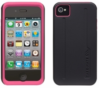 Case-Mate - Tough Case for the Apple iPhone 4 (Black\Pink)
