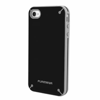PureGear Slim Shell Case for Apple iPhone 4 / 4S - Black