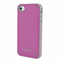 PureGear Slim Shell Case for Apple iPhone 4 / 4S - Rasberry Melon