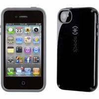 Speck Apple iPhone 4 4S Black/Dark Grey CandyShell