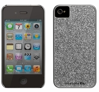 Case-mate iPhone 4/4S Silver Barely There Glam Case