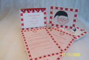 Year 5 -Earn Your Candy Cane Heart  Stationery Kit