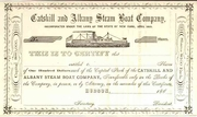 Catskill & Albany Steam Boat Stock 186_