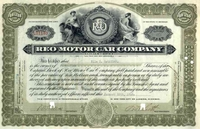 Reo Motor Car Co Stock 1916
