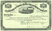 Centerville & Corsica River Steam Boat Co Stock 188_