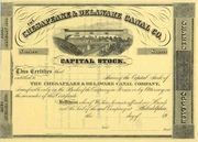 Chesapeake & Delaware Canal Stock 19__