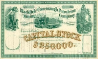 Blacklick & Conemaugh Petroleum & Mining Stock 186_