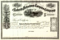 Roberts Petroleum Torpedo Co Stock 186_