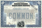 Pocahontas Consolidated Collieries Co Stock 1907